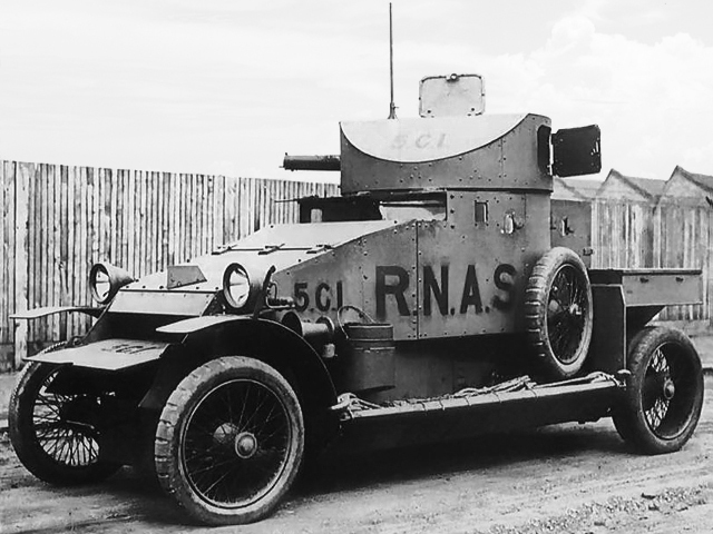 Lanchester Armoured Car (1914)