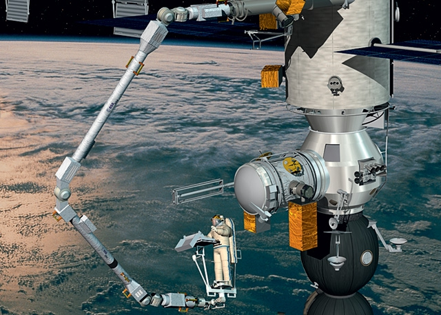2013 год, ERA (European Robotic Arm)