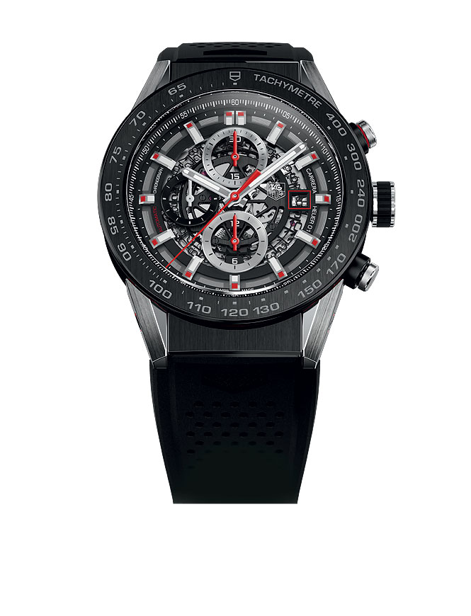 TAG Heuer Carrera Calibre 5 Day-Date Automatic Watch 41 мм