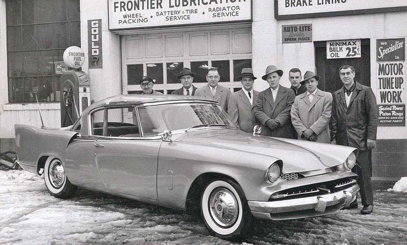 Studebaker Coupe 1953 года