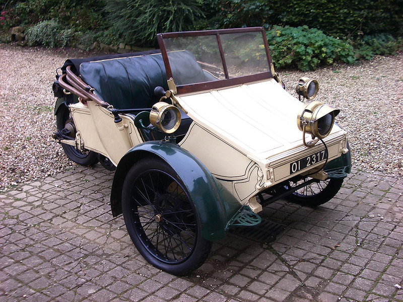 AC Sociable 2-seater (1907)