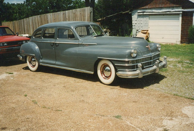 Chrysler Saratoga 1947 года